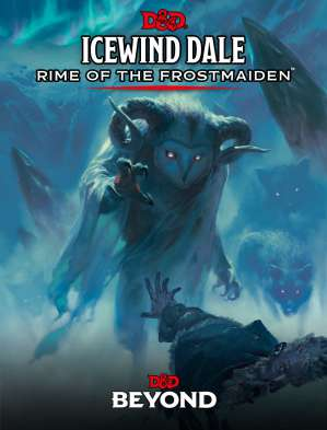 icewind dale rime of the frostmaiden book cover jpg