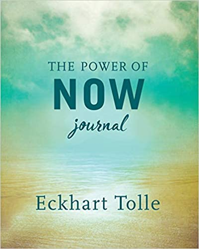 the power of now journal book cover image