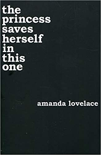 The Princess Saves Herself in This One by Amanda Lovelace book cover img
